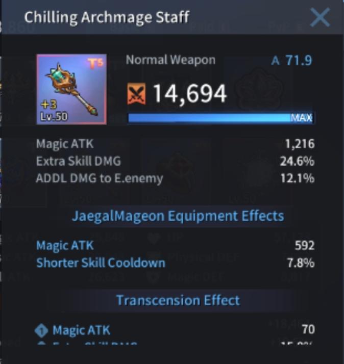 Hero JaegalMageon · Swirling Potion